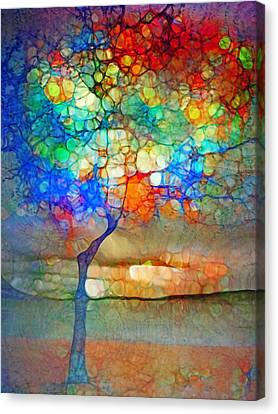 The Globe Tree Canvas Print by Tara Turner