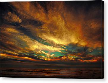 The Glory Canvas Print by James Heckt