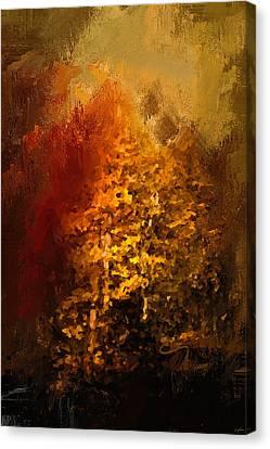 The Glory Of Autumn Canvas Print by Jai Johnson