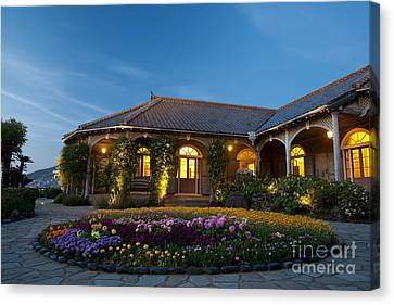 The Glover Residence Canvas Print by Aiolos Greek Collections