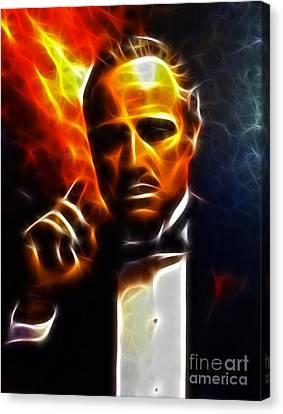 The Godfather Canvas Print by Pamela Johnson