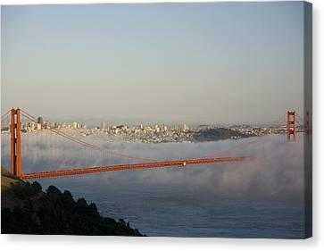 The Golden Gate Bridge From Marin Canvas Print by Richard Nowitz