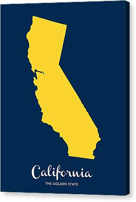 The Golden State Canvas Print by Nancy Ingersoll