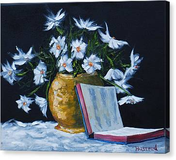 The Good Book... Canvas Print by Brian Hustead