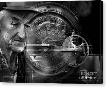 The Good Old Days Canvas Print by Bob Salo