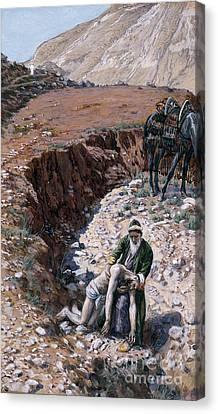 The Good Samaritan Canvas Print by Tissot