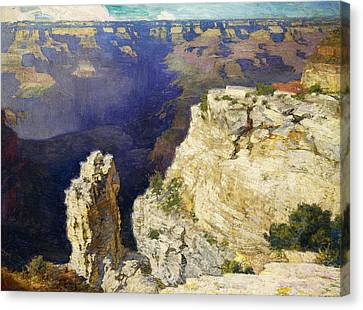 The Grand Canyon Canvas Print by Edward Henry Potthast