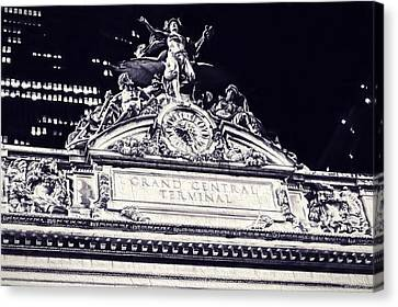 The Grand Central Terminal Canvas Print by Dan Sproul