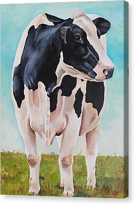 The Grass Is Always Greener Canvas Print by Laura Carey