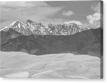 The Great Colorado Sand Dunes  Canvas Print by James BO  Insogna