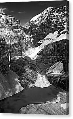 The Great Divide Bw Canvas Print by Steve Harrington