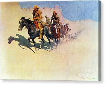 The Great Explorers Canvas Print by Frederic Remington