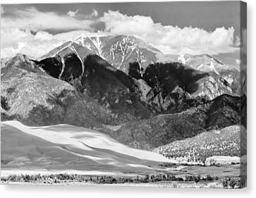 The Great Sand Dune Valley Bw Canvas Print by James BO  Insogna