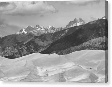 The Great Sand Dunes Bw Print 45 Canvas Print by James BO  Insogna
