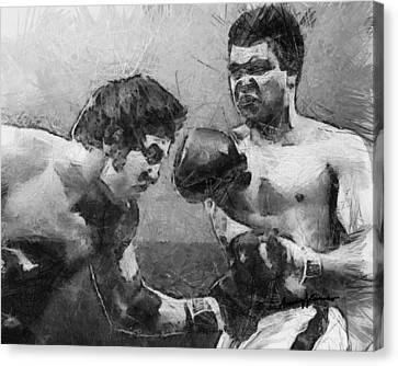 The Greatest Canvas Print by Anthony Caruso