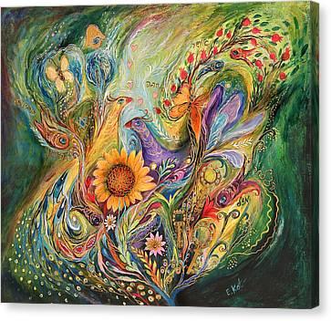The Green World Canvas Print by Elena Kotliarker