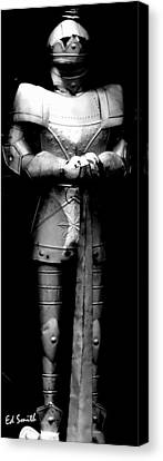 The Guard Canvas Print by Ed Smith