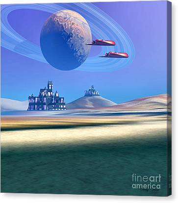 The Guardians Canvas Print by Corey Ford