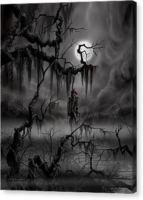 The Hangman Canvas Print by James Christopher Hill