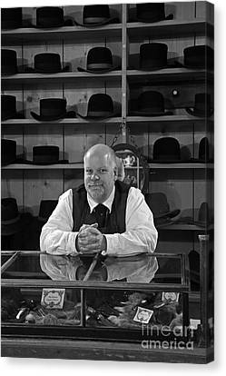 The Hat Maker Canvas Print by Inge Riis McDonald