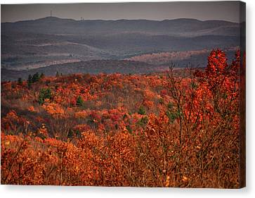 The Hills To High Point Canvas Print by Raymond Salani III