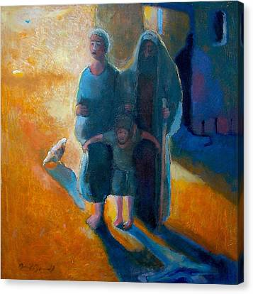 The Holy Family Canvas Print by Daniel Bonnell