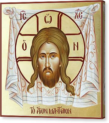 The Holy Napkin  Canvas Print by Julia Bridget Hayes