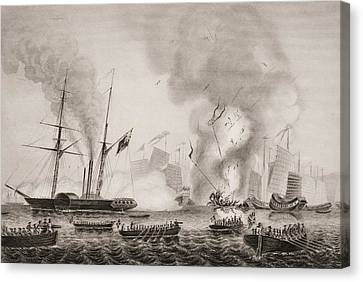The Hon. East India Company S Steamer Canvas Print by Vintage Design Pics