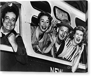 The Honeymooners, C1955 Canvas Print by Granger