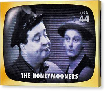 The Honeymooners Canvas Print by Lanjee Chee