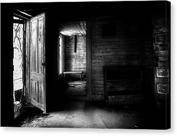 The House In The Woods Canvas Print by Greg Mimbs