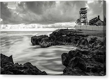 The House Of Refuge Canvas Print by Clay Townsend