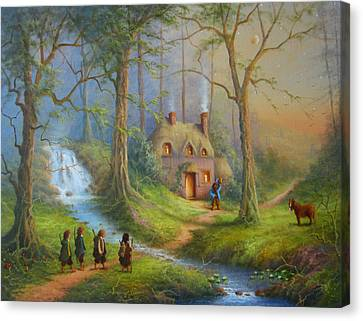 The House Of Tom Bombadil.  Canvas Print by Joe  Gilronan