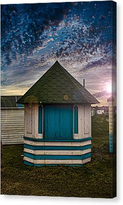 The Hut Canvas Print by Martin Newman
