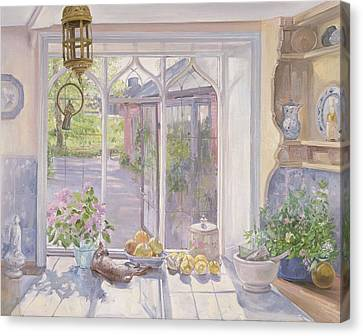 The Ignored Bird Canvas Print by Timothy Easton