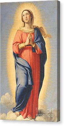 The Immaculate Conception Canvas Print by Il Sassoferrato