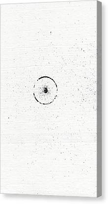 The Inexplicable Ignition Of Time Expanding Into Free Space Phase One Number 3 Canvas Print by Mark M  Mellon