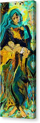 The Infant Jesus Canvas Print by Anne Weirich