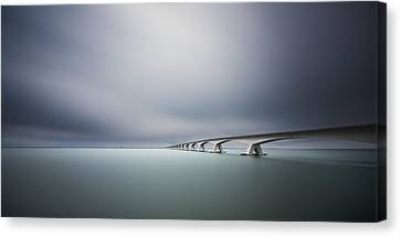 The Infinite Bridge Canvas Print by Arthur Van Orden