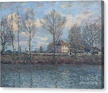 The Isle Of Grande Jatte Canvas Print by Celestial Images