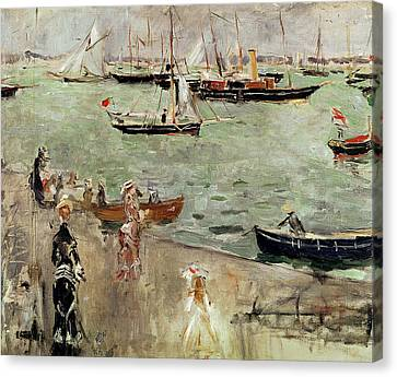 The Isle Of Wight Canvas Print by Berthe Morisot