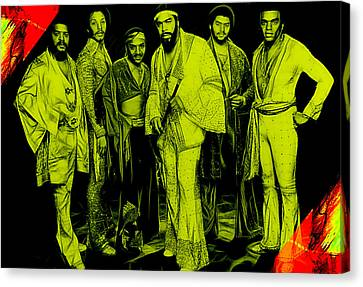 The Isley Brothers Collection Canvas Print by Marvin Blaine