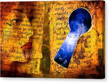 The Key Hole Canvas Print by Andre Giovina