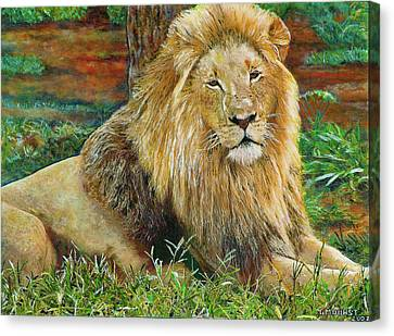 The King Canvas Print by Michael Durst