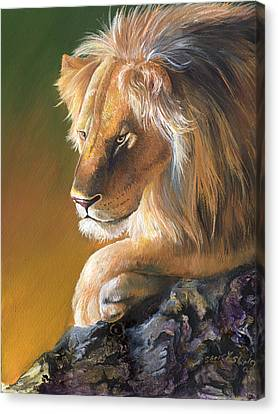 The King Canvas Print by Sherry Shipley