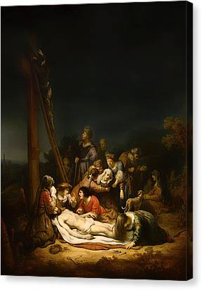 The Lamentation Canvas Print by Mountain Dreams