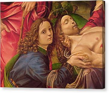The Lamentation Of Christ Canvas Print by Capponi