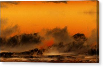 The Land Of The Iroquois Canvas Print by Geoff Simmonds