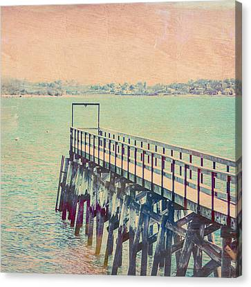 The Landing Quincy Canvas Print by Brandi Fitzgerald