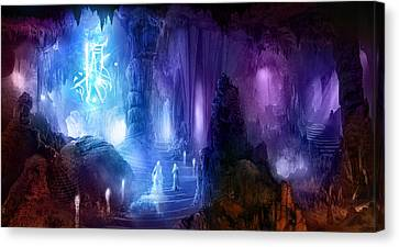 The Language Of Dreams Canvas Print by Philip Straub